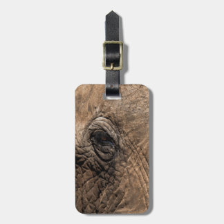 Face of an Elephant Luggage Tag