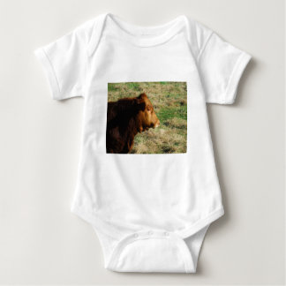 Face of Brown bull cow T Shirt