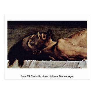 Face Of Christ By Hans Holbein The Younger Postcard