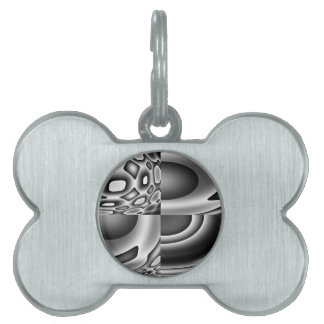 Face of Evil Pet Tag