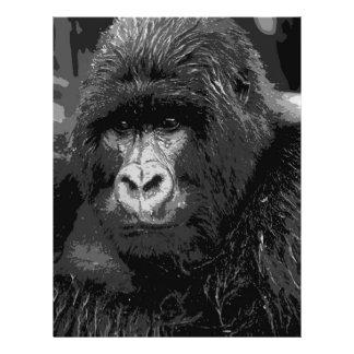 Face of Gorilla Flyer Design