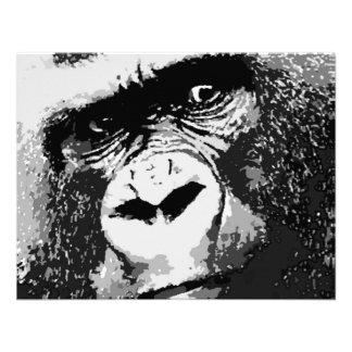 Face of Gorilla Invitation