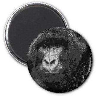 Face of Gorilla Magnet