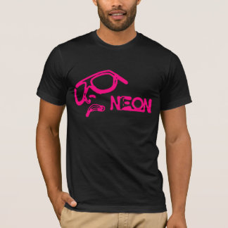 Face of Neon - RetroMe - T-Shirt (Pink)