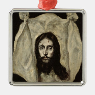 Face of the Christ Christmas Ornament