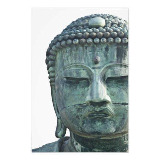 Face of the Great Buddha of Kamakura also Photo Art