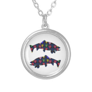 Face PAINTED fIsh TROUT kids NavinJOSHI NVN98 FUN Necklaces