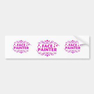Face Painter Bumper Stickers