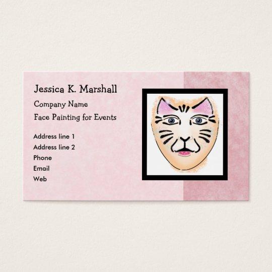 Face Painter / Fantasy Makeup Artist (Pink) Business