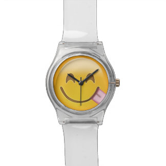 Face Savouring Delicious Food Emoji Watch
