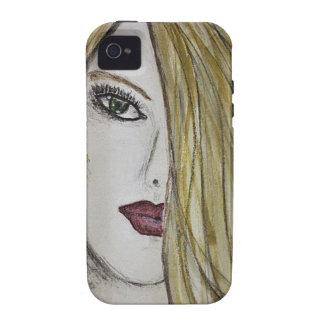 Face Sketch iPhone 4/4S Case