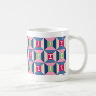Face Squares 3 Mug