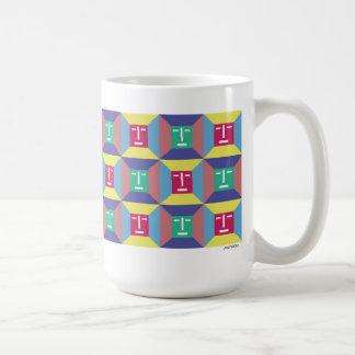 Face Squares 4 Coffee Mug