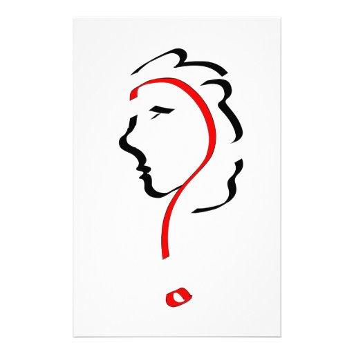 Face Personalized Stationery