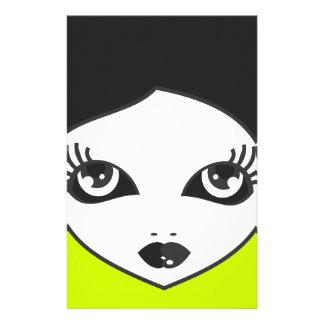 Face Stationery Design