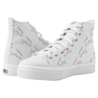 Face The Music Printed Shoes