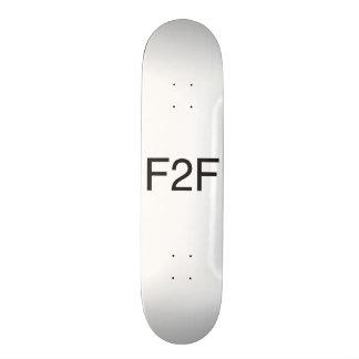 face to face.ai skate deck