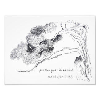 FACE-TREE Photo Print