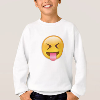 Face With Stuck Out Tongue & Tightly Closed Eyes Sweatshirt