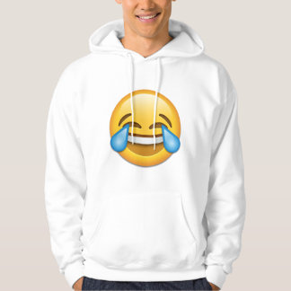 Face With Tears Of Joy emoji Hoodie