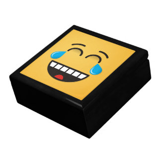 Face With Tears of Joy Large Square Gift Box