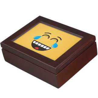 Face With Tears of Joy Memory Boxes
