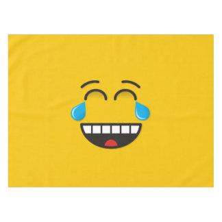 Face With Tears of Joy Tablecloth