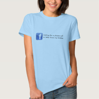 Facebook Army Wife Girlfriend T-shirts