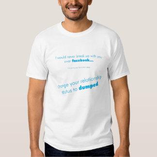 facebook break up T Shirt