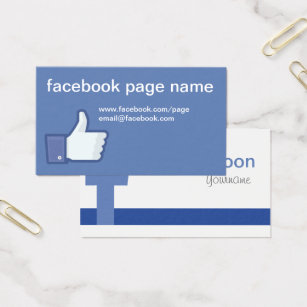 Facebook business cards business card printing zazzle uk facebook cc0059 business card colourmoves