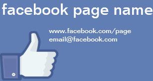 Facebook business cards zazzle uk facebook cc0059 business card colourmoves