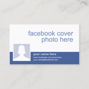 Facebook business cards business card printing zazzle uk facebook cc0213 business card colourmoves