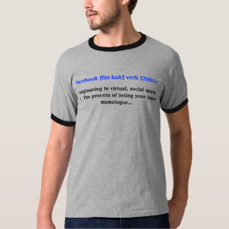 Facebook Definition T-Shirt