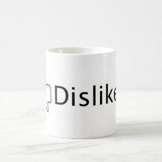 Facebook Dislike. Coffee Mug