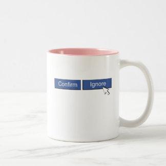 Facebook Friend Request Mugs