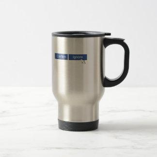Facebook Friend Request Travel Mug