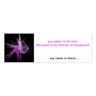 Facebook-Friends Flirt-Card Pack Of Skinny Business Cards