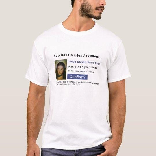 Facebook jesus T-Shirt