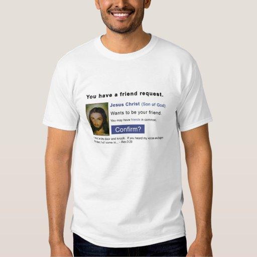 Facebook jesus tshirts