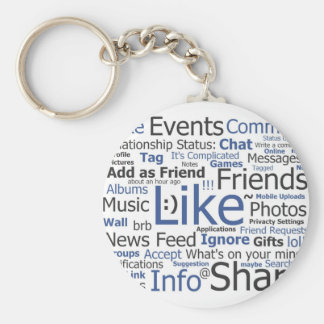 Facebook Key Ring