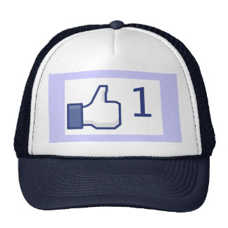 Facebook Like Button Hat