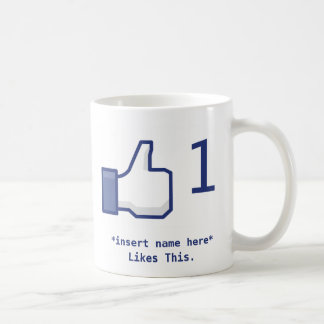 Facebook Like Mug