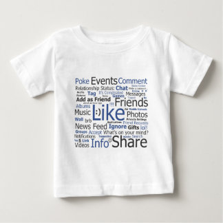 Facebook - like, poke, tagged, friends shirts