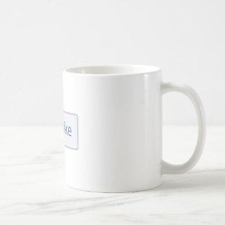 Facebook Like status mug