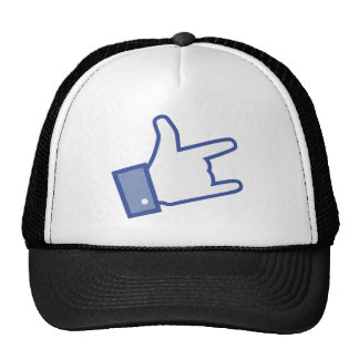 Facebook like You Rock thumb Rock and Roll icon Cap