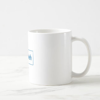 Facebook Meh Coffee Mug