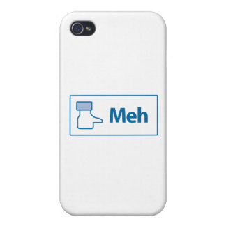 Facebook Meh Case For iPhone 4