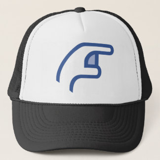 facebook POKE me Trucker Hat