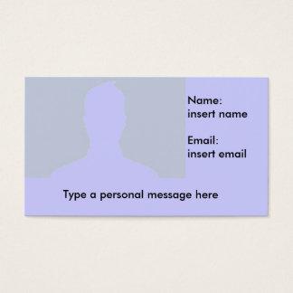 Facebook Profile card
