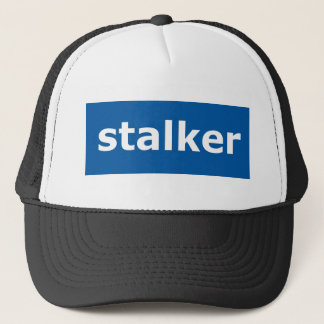 facebook stalker trucker hat